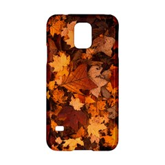 Fall Foliage Autumn Leaves October Samsung Galaxy S5 Hardshell Case