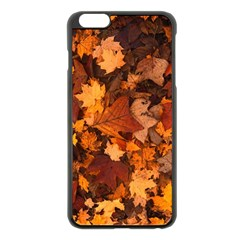 Fall Foliage Autumn Leaves October Apple Iphone 6 Plus/6s Plus Black Enamel Case by Nexatart