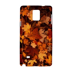 Fall Foliage Autumn Leaves October Samsung Galaxy Note 4 Hardshell Case by Nexatart