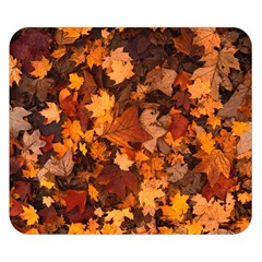 Fall Foliage Autumn Leaves October Double Sided Flano Blanket (small)  by Nexatart