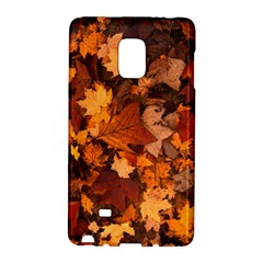 Fall Foliage Autumn Leaves October Galaxy Note Edge by Nexatart