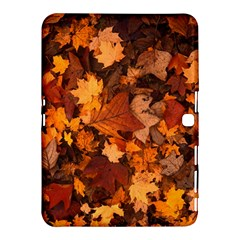Fall Foliage Autumn Leaves October Samsung Galaxy Tab 4 (10 1 ) Hardshell Case  by Nexatart