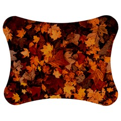 Fall Foliage Autumn Leaves October Jigsaw Puzzle Photo Stand (bow)