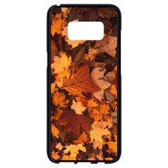 Fall Foliage Autumn Leaves October Samsung Galaxy S8 Black Seamless Case by Nexatart