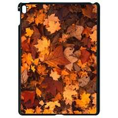 Fall Foliage Autumn Leaves October Apple Ipad Pro 9 7   Black Seamless Case