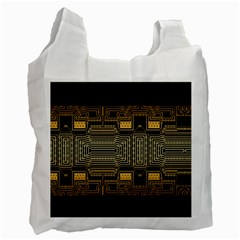 Board Digitization Circuits Recycle Bag (one Side) by Nexatart