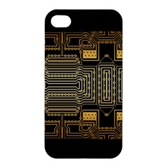 Board Digitization Circuits Apple Iphone 4/4s Premium Hardshell Case by Nexatart