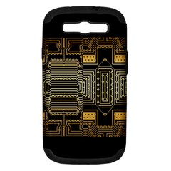 Board Digitization Circuits Samsung Galaxy S Iii Hardshell Case (pc+silicone)