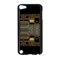 Board Digitization Circuits Apple Ipod Touch 5 Case (black)