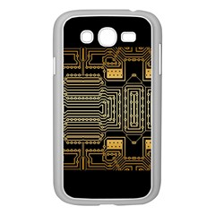Board Digitization Circuits Samsung Galaxy Grand Duos I9082 Case (white) by Nexatart