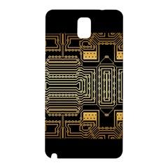 Board Digitization Circuits Samsung Galaxy Note 3 N9005 Hardshell Back Case