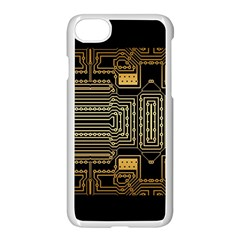 Board Digitization Circuits Apple Iphone 7 Seamless Case (white)