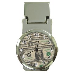 Dollar Currency Money Us Dollar Money Clip Watches by Nexatart