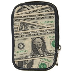 Dollar Currency Money Us Dollar Compact Camera Cases by Nexatart