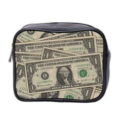 Dollar Currency Money Us Dollar Mini Toiletries Bag 2 Side