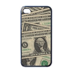 Dollar Currency Money Us Dollar Apple Iphone 4 Case (black)