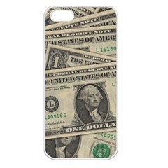 Dollar Currency Money Us Dollar Apple Iphone 5 Seamless Case (white)