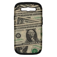Dollar Currency Money Us Dollar Samsung Galaxy S Iii Hardshell Case (pc+silicone)