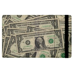 Dollar Currency Money Us Dollar Apple Ipad 2 Flip Case by Nexatart