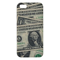 Dollar Currency Money Us Dollar Iphone 5s/ Se Premium Hardshell Case by Nexatart