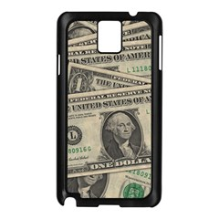 Dollar Currency Money Us Dollar Samsung Galaxy Note 3 N9005 Case (black) by Nexatart