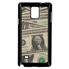 Dollar Currency Money Us Dollar Samsung Galaxy Note 4 Case (black)