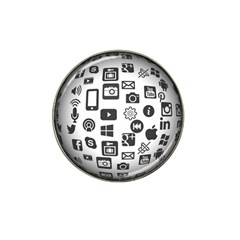 Icon Ball Logo Google Networking Hat Clip Ball Marker