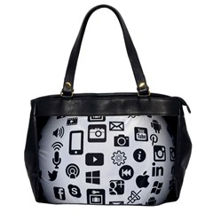 Icon Ball Logo Google Networking Office Handbags