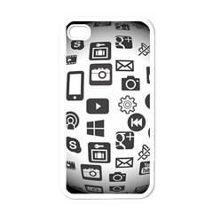 Icon Ball Logo Google Networking Apple Iphone 4 Case (white)