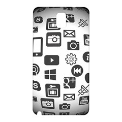 Icon Ball Logo Google Networking Samsung Galaxy Note 3 N9005 Hardshell Back Case
