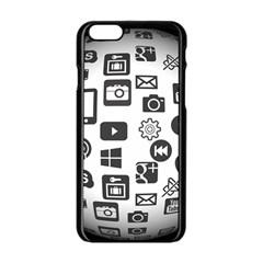 Icon Ball Logo Google Networking Apple Iphone 6/6s Black Enamel Case by Nexatart