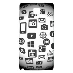 Icon Ball Logo Google Networking Galaxy Note 4 Back Case