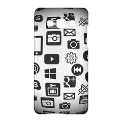 Icon Ball Logo Google Networking Samsung Galaxy A5 Hardshell Case  by Nexatart