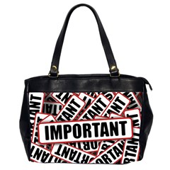 Important Stamp Imprint Office Handbags (2 Sides)  by Nexatart