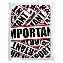 Important Stamp Imprint Apple Ipad 2 Case (white) by Nexatart