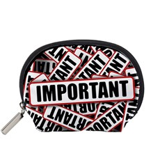 Important Stamp Imprint Accessory Pouches (small)  by Nexatart