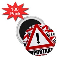 Important Stamp Imprint 1 75  Magnets (100 Pack)