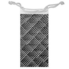 Grid Wire Mesh Stainless Rods Jewelry Bag by Nexatart