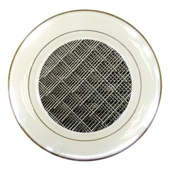 Grid Wire Mesh Stainless Rods Porcelain Plates