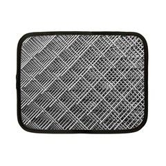 Grid Wire Mesh Stainless Rods Netbook Case (small)