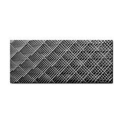 Grid Wire Mesh Stainless Rods Cosmetic Storage Cases by Nexatart