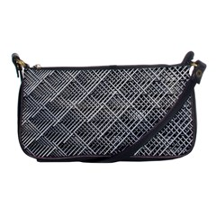 Grid Wire Mesh Stainless Rods Shoulder Clutch Bags by Nexatart
