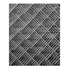 Grid Wire Mesh Stainless Rods Shower Curtain 60  X 72  (medium)  by Nexatart