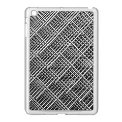 Grid Wire Mesh Stainless Rods Apple Ipad Mini Case (white)