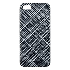 Grid Wire Mesh Stainless Rods Iphone 5s/ Se Premium Hardshell Case