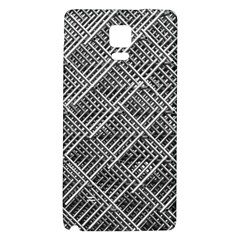 Grid Wire Mesh Stainless Rods Galaxy Note 4 Back Case
