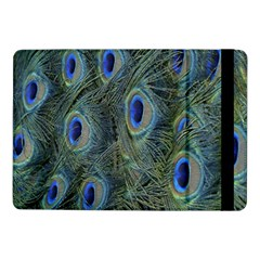 Peacock Feathers Blue Bird Nature Samsung Galaxy Tab Pro 10 1  Flip Case by Nexatart