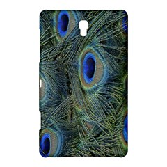 Peacock Feathers Blue Bird Nature Samsung Galaxy Tab S (8 4 ) Hardshell Case
