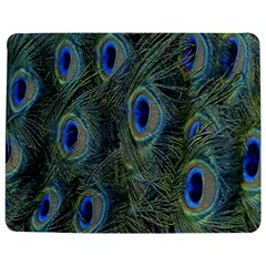 Peacock Feathers Blue Bird Nature Jigsaw Puzzle Photo Stand (rectangular)