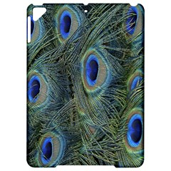 Peacock Feathers Blue Bird Nature Apple Ipad Pro 9 7   Hardshell Case